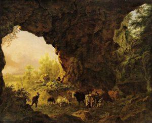 Peinture de grotte Pierre-Louis de la Rive