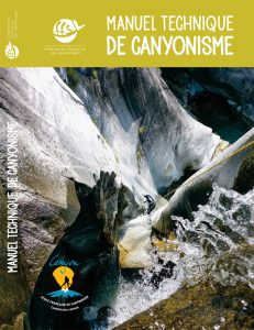 Couverture du manuel technique de canyonisme